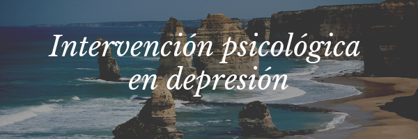 Intervención psicológica en depresión