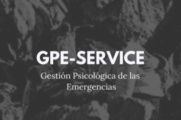 GPE Service–Gestión Psicológica de las Emergencias